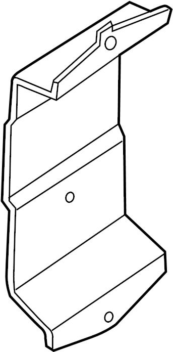 Infiniti Qx56 Engine Control Module Bracket