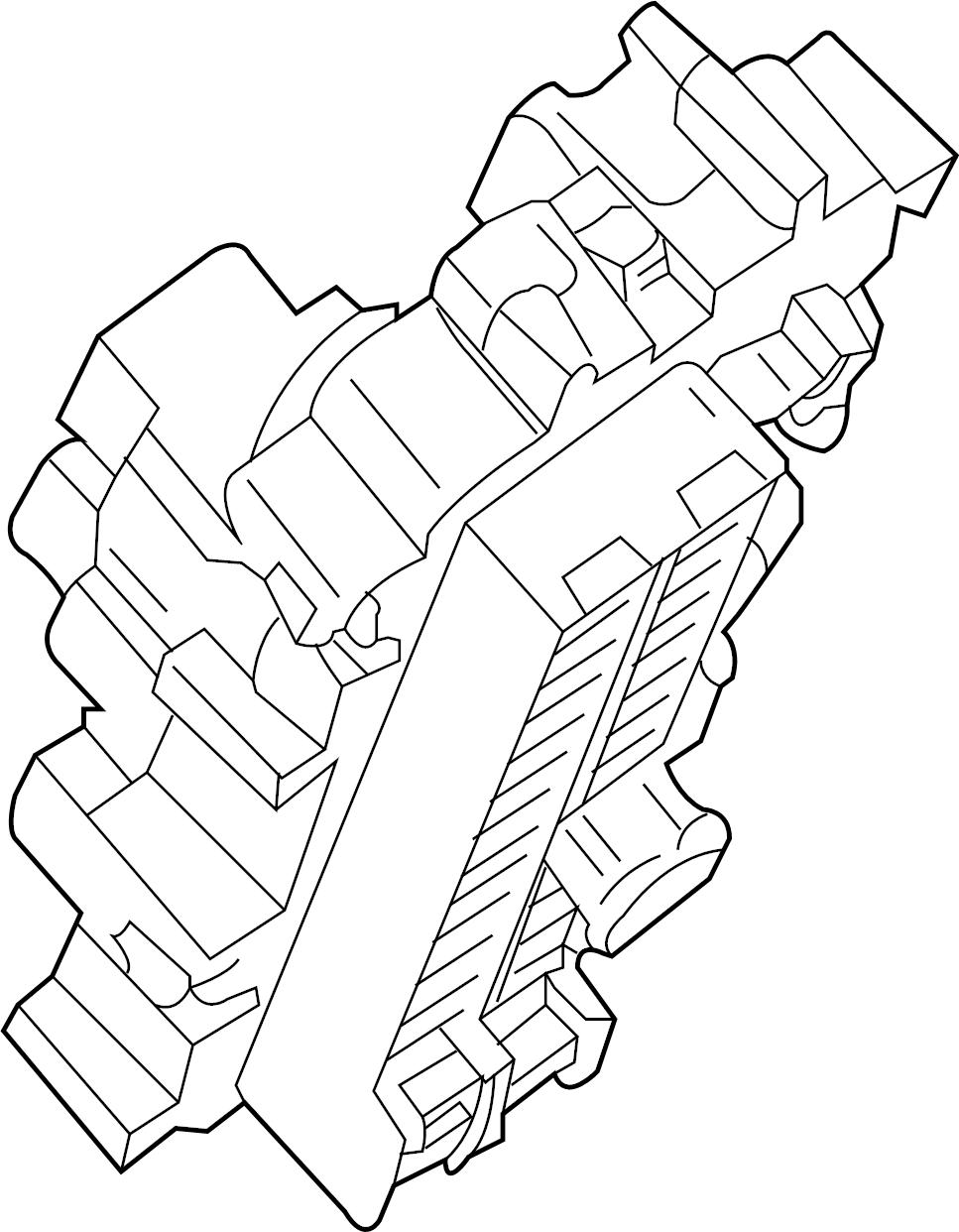 Infiniti Q50 Block Fuse  Other